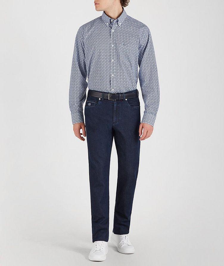 Geometric Cotton Shirt image 4