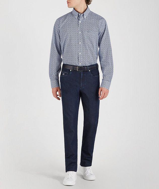 Geometric Cotton Shirt picture 5