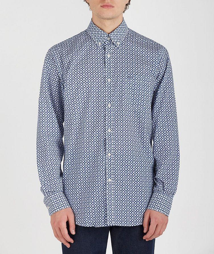 Geometric Cotton Shirt image 0