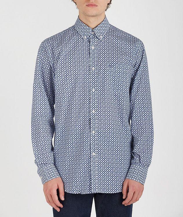 Geometric Cotton Shirt picture 1