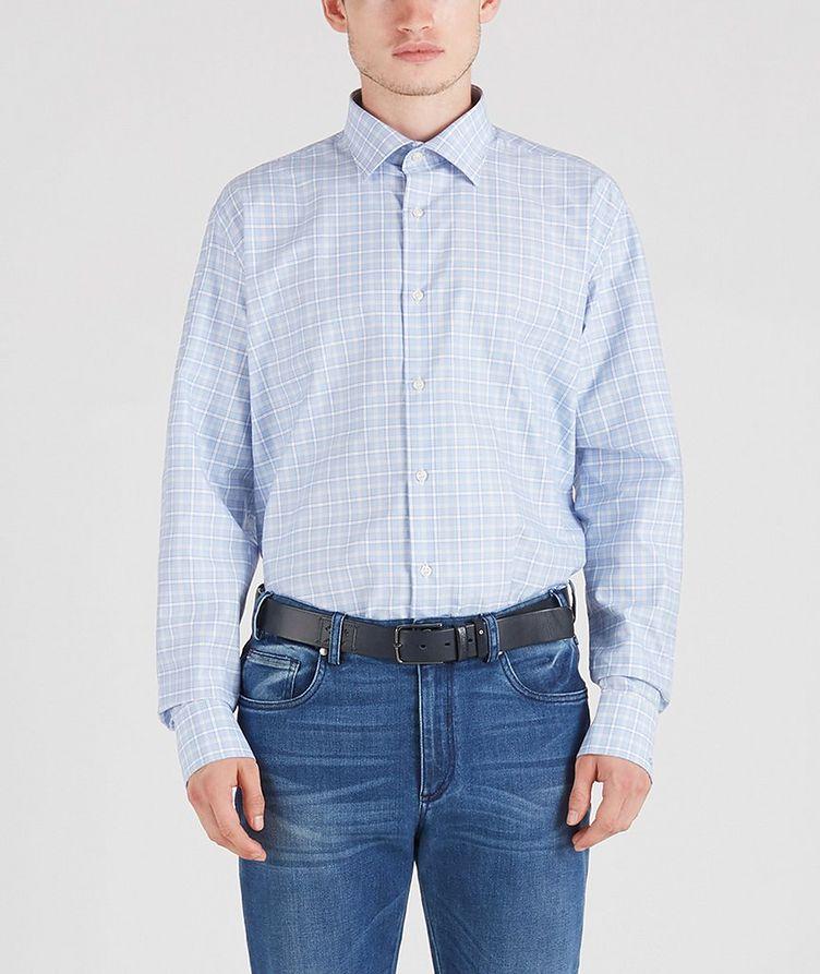 Checked Cotton Shirt image 0
