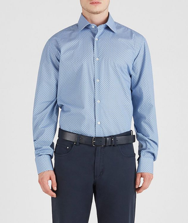Geometric Cotton Shirt picture 2