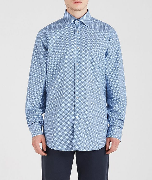 Geometric Cotton Shirt picture 1