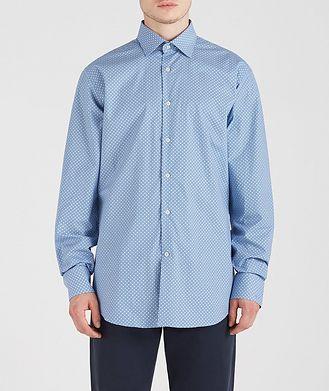 Paul & Shark Geometric Cotton Shirt