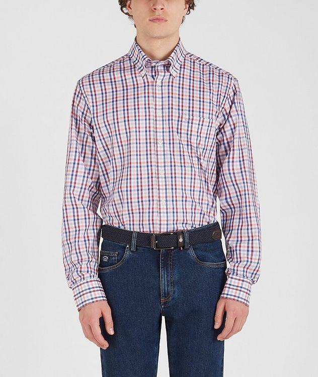 Chemise en coton à motif quadrillé picture 2