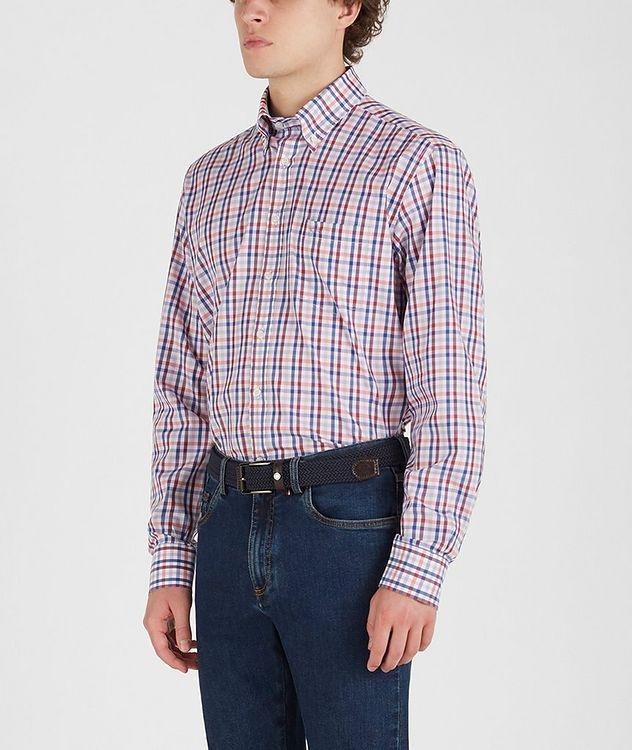Chemise en coton à motif quadrillé picture 3