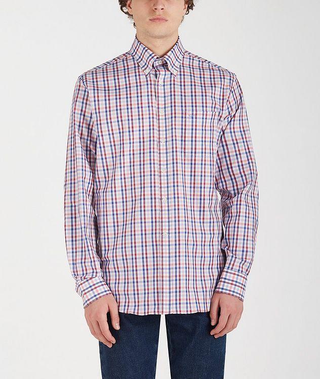 Chemise en coton à motif quadrillé picture 1