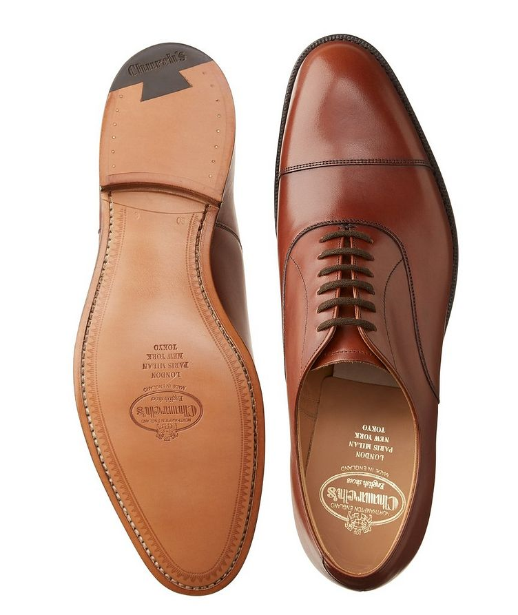 Dubai Leather Cap-Toe Oxfords image 2