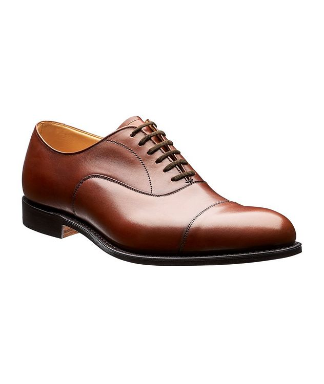 Dubai Leather Cap-Toe Oxfords picture 1