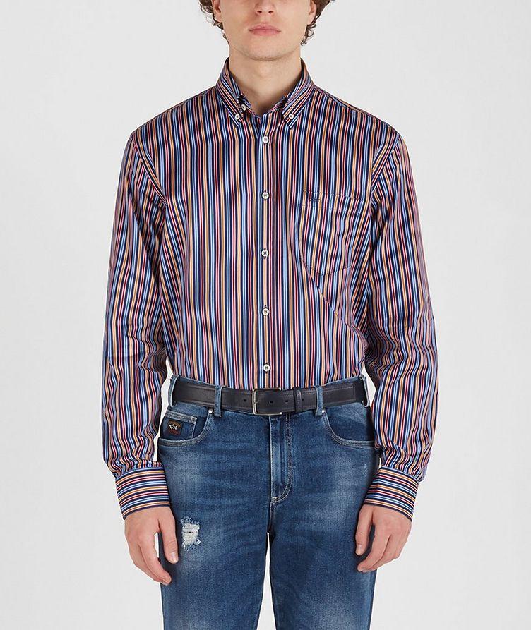 Chemise en coton à rayures image 1