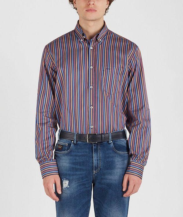 Chemise en coton à rayures picture 2