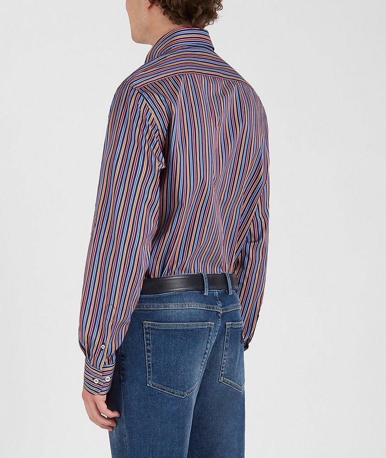 Chemise en coton à rayures image 2