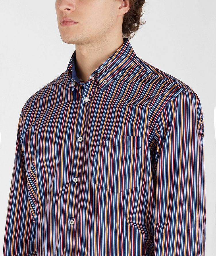 Chemise en coton à rayures image 3