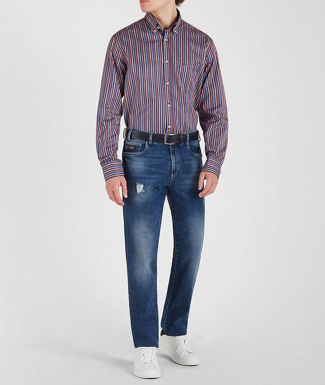Chemise en coton à rayures picture 5