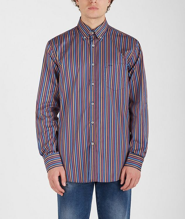 Striped Cotton Shirt picture 1