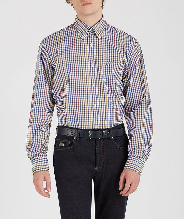 Gingham Cotton Shirt image 1