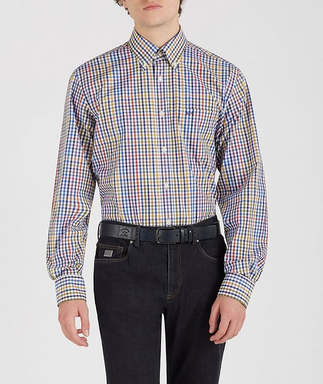Gingham Cotton Shirt picture 2