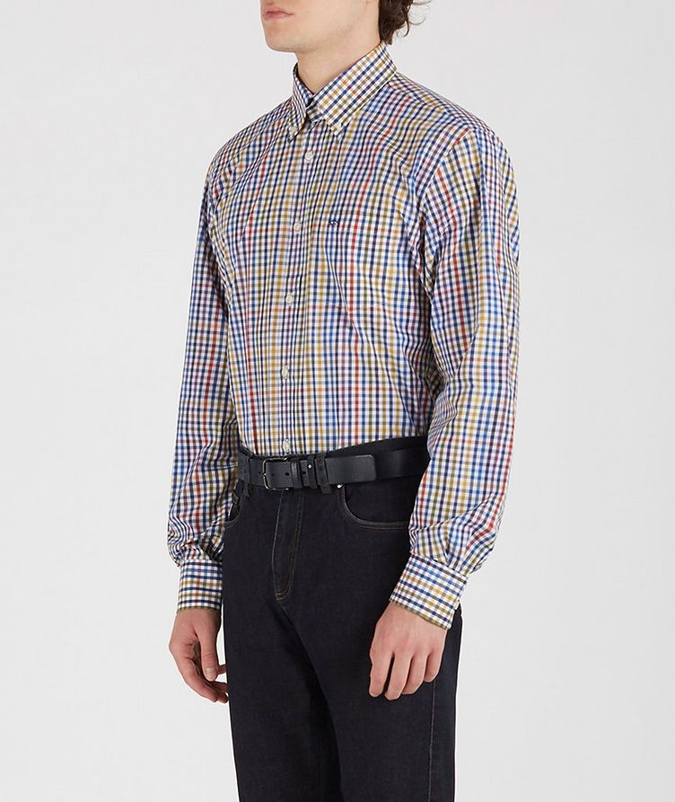 Gingham Cotton Shirt image 2