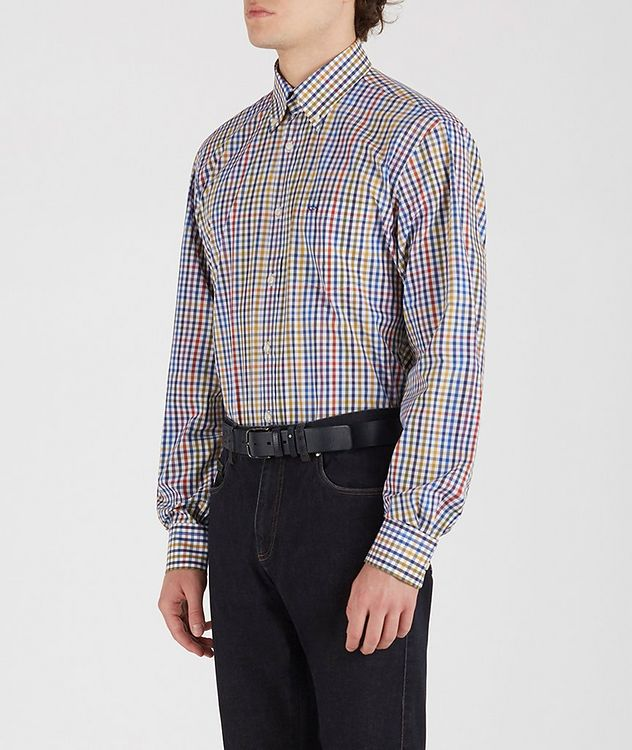 Gingham Cotton Shirt picture 3
