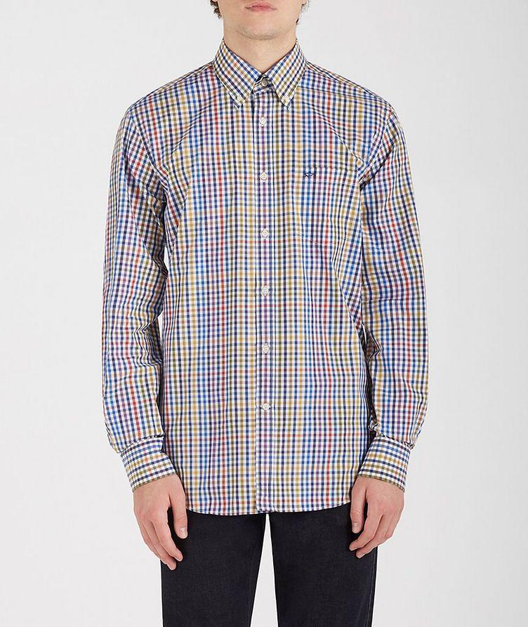 Gingham Cotton Shirt image 0