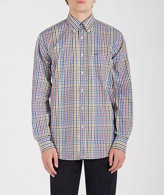 Paul & Shark Gingham Cotton Shirt