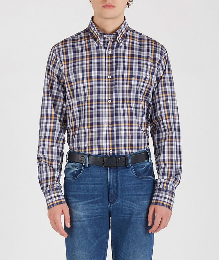 Checked Cotton Shirt image 1