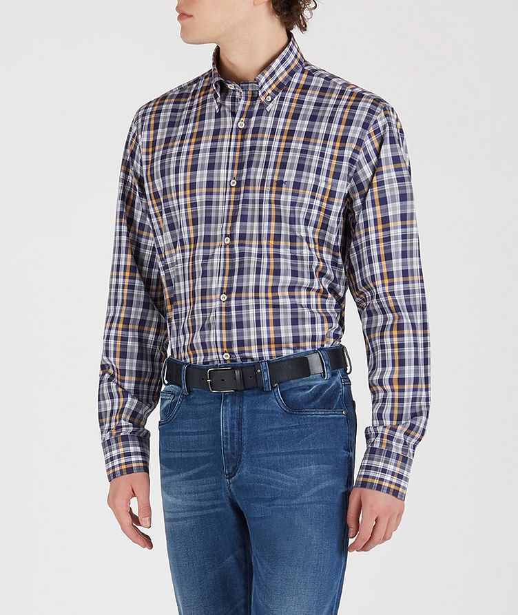 Checked Cotton Shirt image 2
