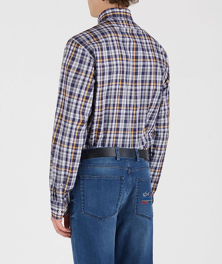 Checked Cotton Shirt image 3