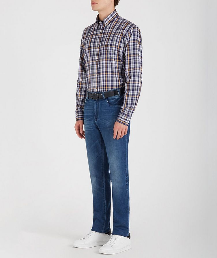 Checked Cotton Shirt image 4