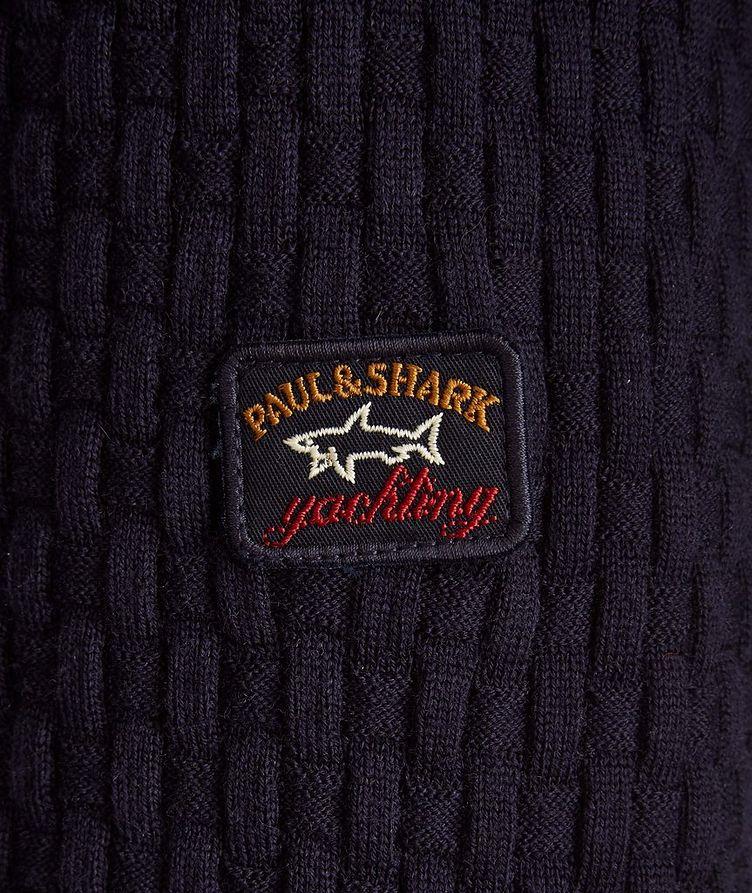 Basket-Weave Wool Sweater image 2