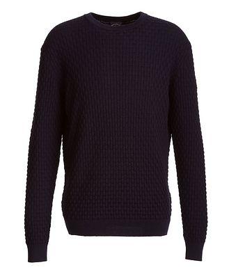 Paul & Shark Basket-Weave Wool Sweater