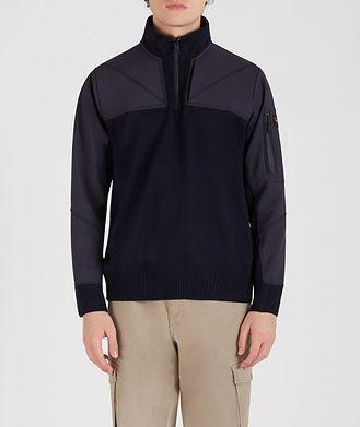 Paul & Shark Half-Zip Wool Sweater