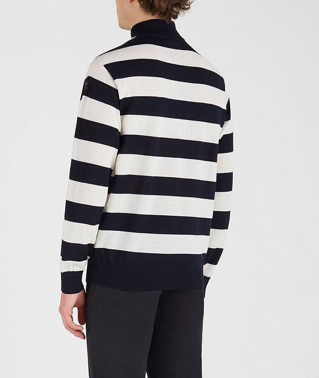 Half-Zip Striped Sweater picture 3