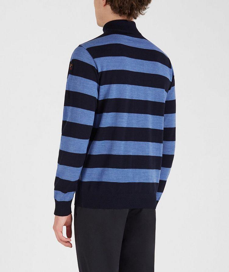 Half-Zip Striped Sweater  image 2