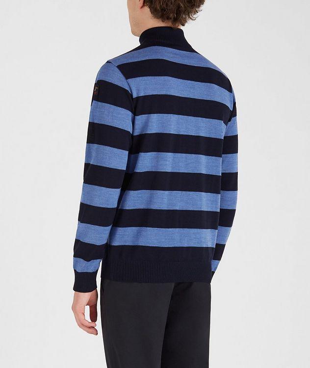 Half-Zip Striped Sweater  picture 3