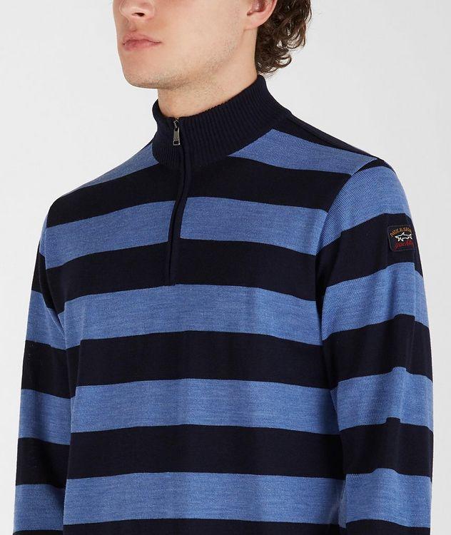 Half-Zip Striped Sweater  picture 4