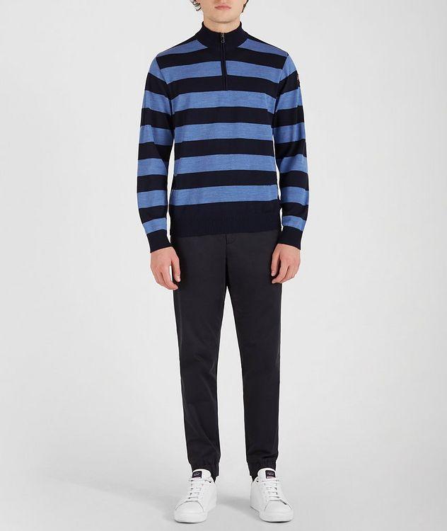 Half-Zip Striped Sweater  picture 5