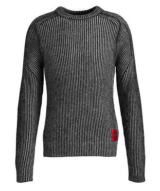 HUGO Shair Structured Alpaca-Wool Sweater