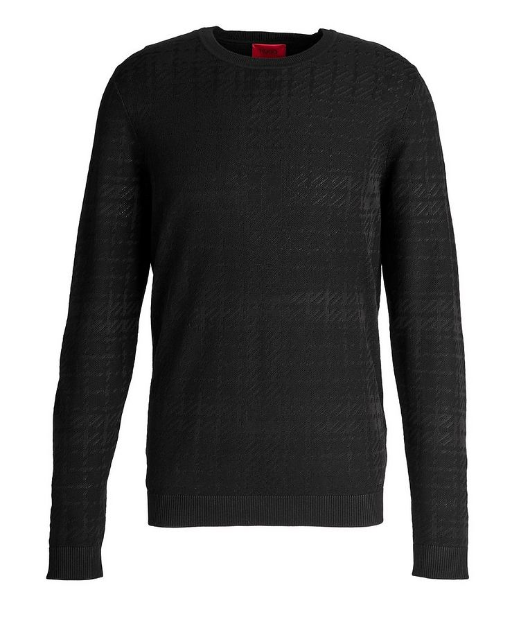 Shiny Cotton-Silk Sweater image 0