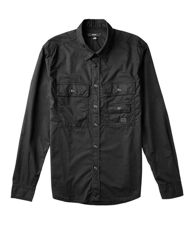 S-Allen-Ka Stretch-Cotton Cargo Shirt image 1