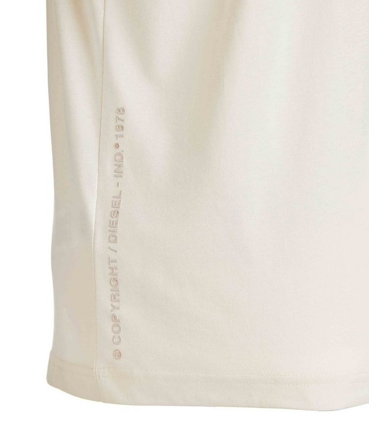 Embroidered Cotton T-Shirt image 3