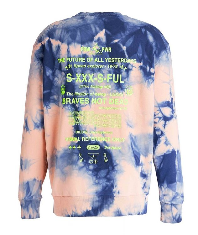 Long-Sleeve Tie-Dye T-Shirt picture 2