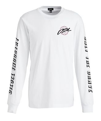 Diesel Long-Sleeve Printed T-Shirt