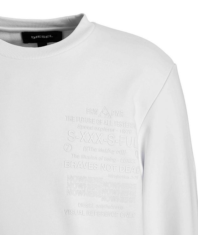 Printed Cotton Sweatshirt picture 3
