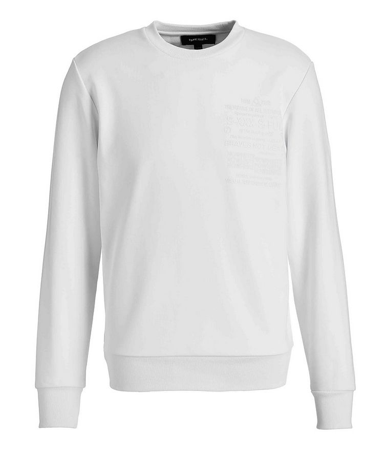 Printed Cotton Sweatshirt image 0
