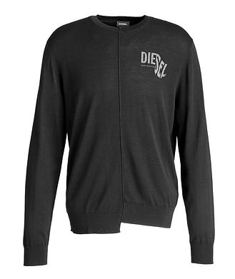 Diesel Long-Sleeve Reconstructed T-Shirt