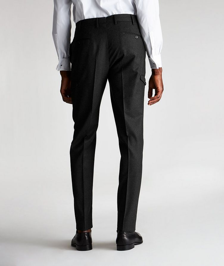 Travel Stretch-Wool Cargo Pants image 1