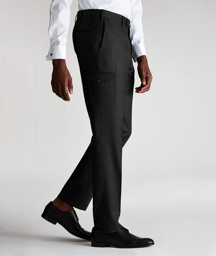 Travel Stretch-Wool Cargo Pants image 2