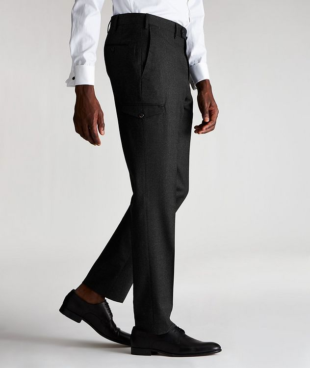 Travel Stretch-Wool Cargo Pants picture 3