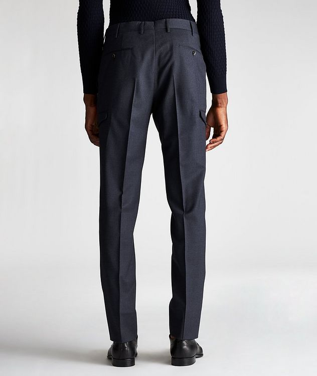 Travel Stretch-Wool Cargo Pants picture 2